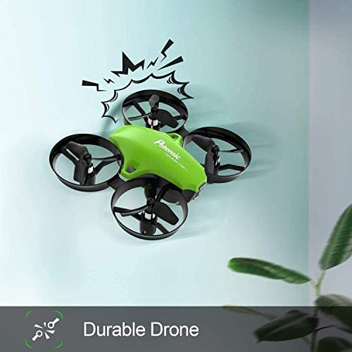 41clDcjSOtL. AC  - Potensic Upgraded A20 Mini Drone Easy to Fly Drone for Kids and Beginners, RC Helicopter Quadcopter with Auto Hovering, Headless Mode, Remote Control and Extra Batteries - Green