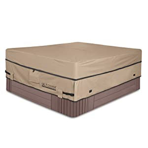 41db22d7 5f97 4587 81bc 08a1e7164499.  CR0,0,1001,1001 PT0 SX300 V1    - ULTCOVER Waterproof 600D Polyester Square Hot Tub Cover Outdoor SPA Covers 95 x 95 inch