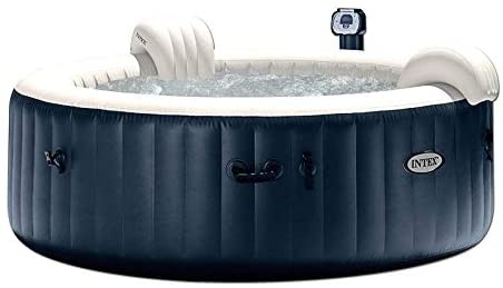 41j4OytsbJL. AC  - Intex Pure Spa Inflatable 6 Person Outdoor Bubble Hot Tub and 2 Seat Inserts