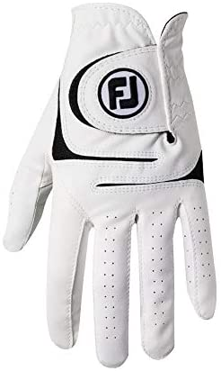41k5mUxsNcL. AC  - FootJoy Men's WeatherSof Golf Gloves, Pack of 2 (White)