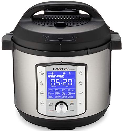 41lLVvYeehL. AC  - Instant Pot Duo Evo Plus Pressure Cooker 9 in 1,  6 Qt, 48 One Touch Programs