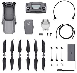 "41so77BegmL. AC  - DJI Mavic 2 Pro - Drone Quadcopter UAV with Hasselblad Camera 3-Axis Gimbal HDR 4K Video Adjustable Aperture 20MP 1"" CMOS Sensor, up to 48mph, Gray"