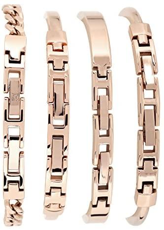 512AI8qTG+L. AC  - Anne Klein Women's Bangle Watch and Swarovski Crystal Bracelet Set, AK/1470
