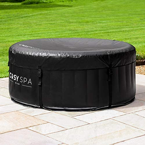 51C5GuZi3yL. AC  - COSYSPA Inflatable Hot Tub – Luxury Outdoor Bubble Spa | 2-6 Person Capacity – Quick Heating (Hot Tub Only - 4 Person)