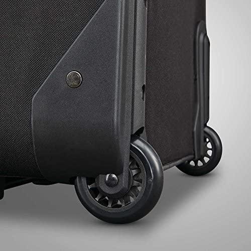 51DEbGyvpTL. AC  - American Tourister Fieldbrook XLT Softside Upright Luggage, Black, 4-Piece Set (BB/DF/21/25)