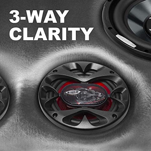51DRTGMxFUL. AC  - BOSS Audio Systems CH6530 Car Speakers - 300 Watts of Power Per Pair and 150 Watts Each, 6.5 Inch, Full Range, 3 Way, Sold in Pairs