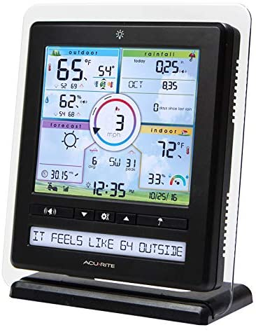 51F+S4WbtZL. AC  - AcuRite Wireless Home Station (01536) with 5-1 Sensor and Android iPhone Weather Monitoring