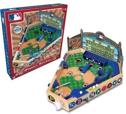 51G8eOv0P3L. AC  - Merchant Ambassador (Holdings) MLB Wooden Pinball Baseball Game