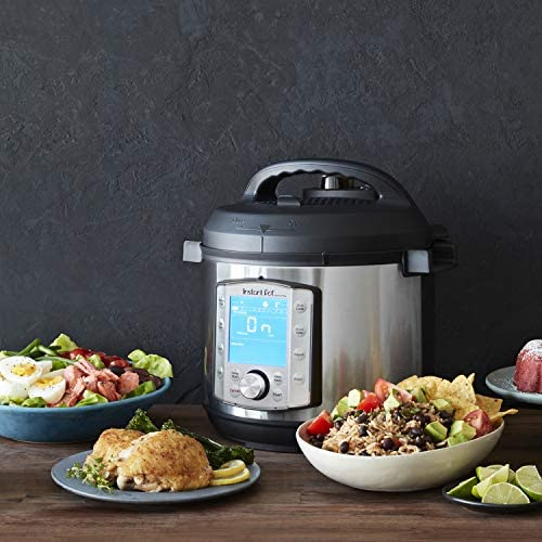 51JZBA ydoL. AC  - Instant Pot Duo Evo Plus Pressure Cooker 9 in 1, 6 Qt, 48 One Touch Programs
