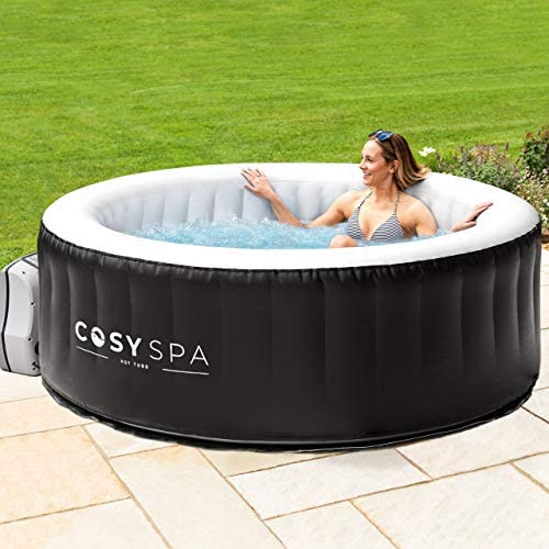 51L0sMk5XpL. AC  - COSYSPA Inflatable Hot Tub – Luxury Outdoor Bubble Spa | 2-6 Person Capacity – Quick Heating (Hot Tub Only - 4 Person)