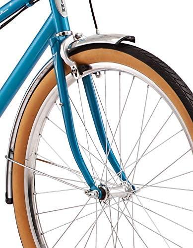 51UmGyOuWmL. AC  - Schwinn Twinn Classic Tandem Adult Beach Cruiser Bike, Double Seater, Steel Low Step Frame, 7-Speed, Medium or Large Frame Options