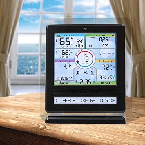 51Uydx0AU L. AC  - AcuRite Wireless Home Station (01536) with 5-1 Sensor and Android iPhone Weather Monitoring