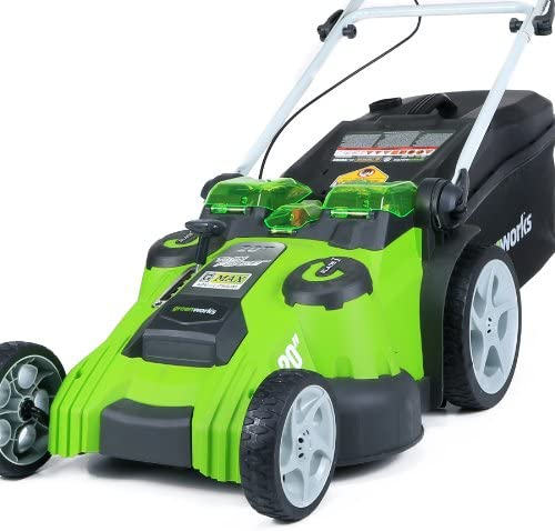51Wn RwWGiL. AC  - Greenworks 40V 20-Inch Cordless Twin Force Lawn Mower, 4Ah & 2Ah Batteries with Charger Included