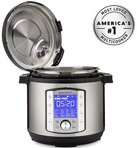 51c3qmOwdSL. AC  - Instant Pot Duo Evo Plus Pressure Cooker 9 in 1, 6 Qt, 48 One Touch Programs