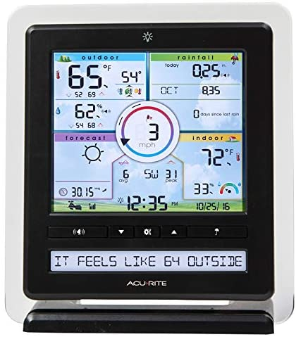 51gosoxYi3L. AC  - AcuRite Wireless Home Station (01536) with 5-1 Sensor and Android iPhone Weather Monitoring
