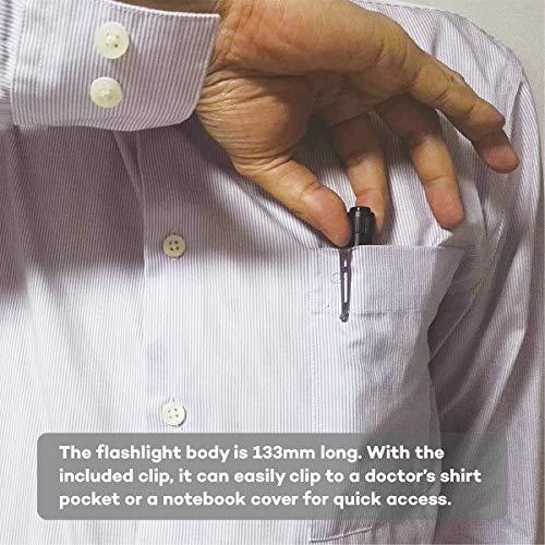51lrJ6AHYbL - Weltool M6-Dr Diagnostic Medical Penlight No-Glare for Doctor Nurse Inspection Torch Medical Care Emergency Pocket Pen Light with Clip