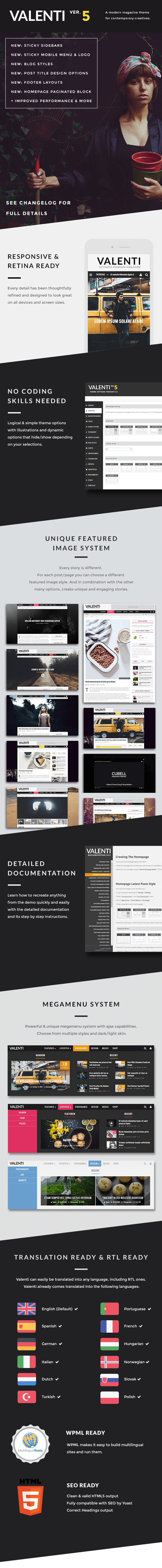 5 01 - Valenti - WordPress HD Review Magazine News Theme