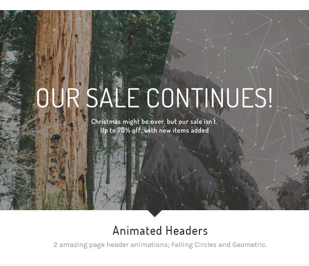 6 atelier animated headers - Atelier - Creative Multi-Purpose eCommerce Theme