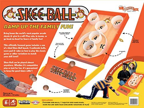 61ZnvrRCMeL. AC  - Buffalo Games - Skee-Ball, Multicolor