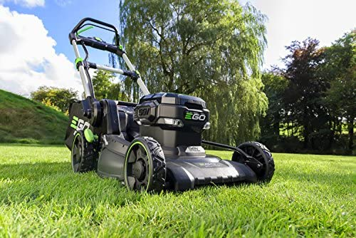 61tpGiqUHtL. AC  - EGO Power+ LM2020SP 20-Inch 56-Volt Lithium-ion Brushless Walk Behind Steel Deck Self-Propelled Lawn Mower - Battery and Charger Not Included