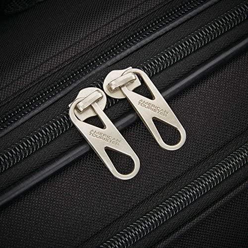 61vkGr0yzCL. AC  - American Tourister Fieldbrook XLT Softside Upright Luggage, Black, 4-Piece Set (BB/DF/21/25)