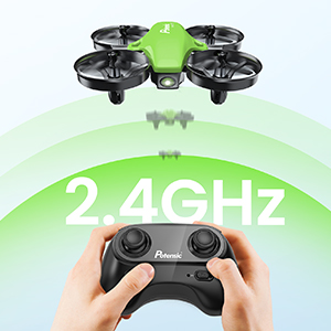 62ad883a 2c07 42cd 9034 69874ec890cc.  CR0,0,300,300 PT0 SX300 V1    - Potensic Upgraded A20 Mini Drone Easy to Fly Drone for Kids and Beginners, RC Helicopter Quadcopter with Auto Hovering, Headless Mode, Remote Control and Extra Batteries - Green