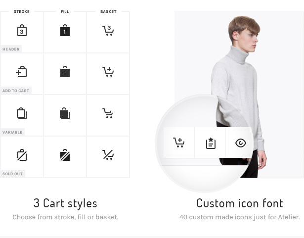 8 atelier cart animation add - Atelier - Creative Multi-Purpose eCommerce Theme
