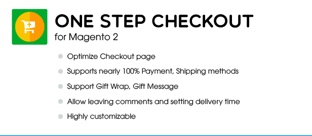 Banner claue OneStepCheckout edited1 - Claue - Clean, Minimal Magento 2 and 1 Theme
