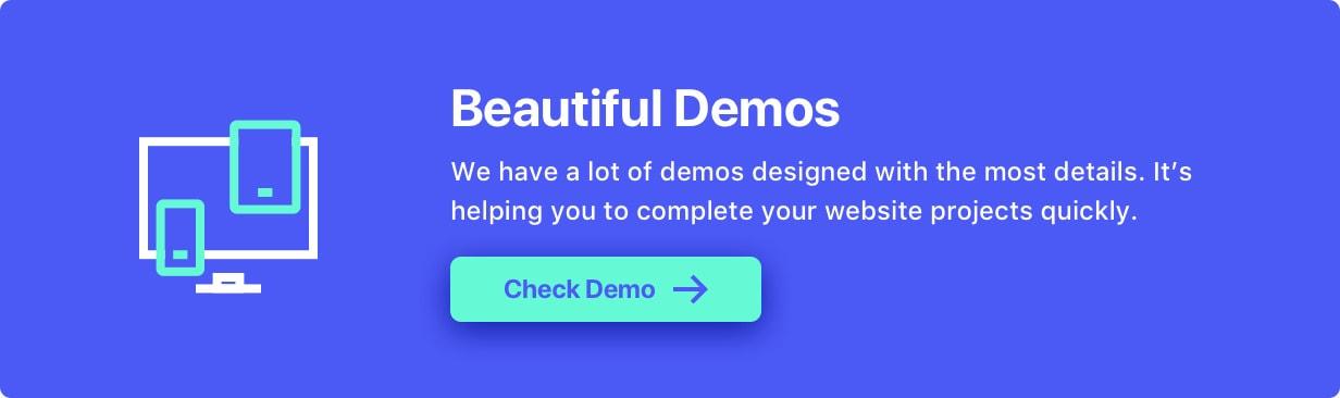 Beautiful Demos - TheFox   Responsive Multi-Purpose WordPress Theme