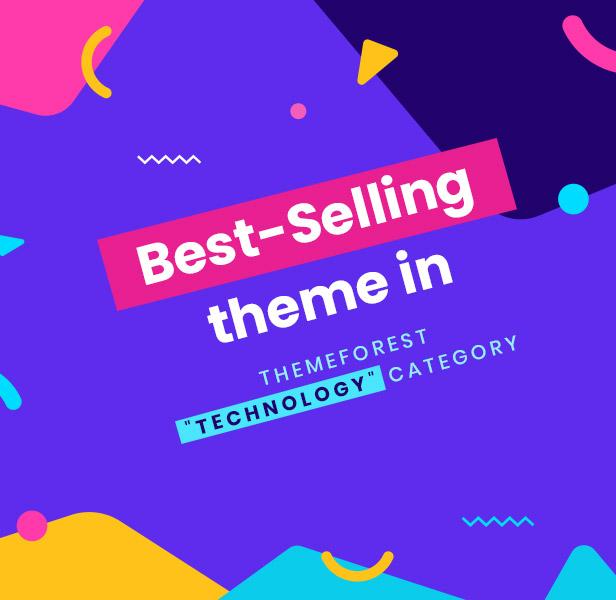 Best selling 3 - Saasland - MultiPurpose WordPress Theme for Startup