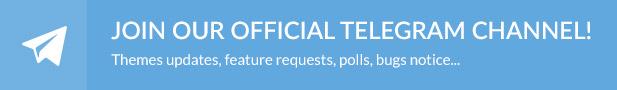Telegram - Legenda - Responsive Multi-Purpose WordPress Theme
