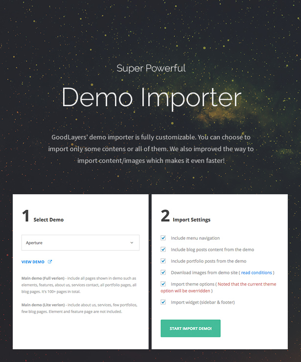 ad 5 - Infinite - Multipurpose WordPress Theme