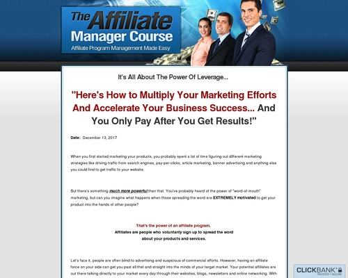 affilmgr x400 thumb - The Affiliate Manager Course | Affiliate Program Management Made Easy