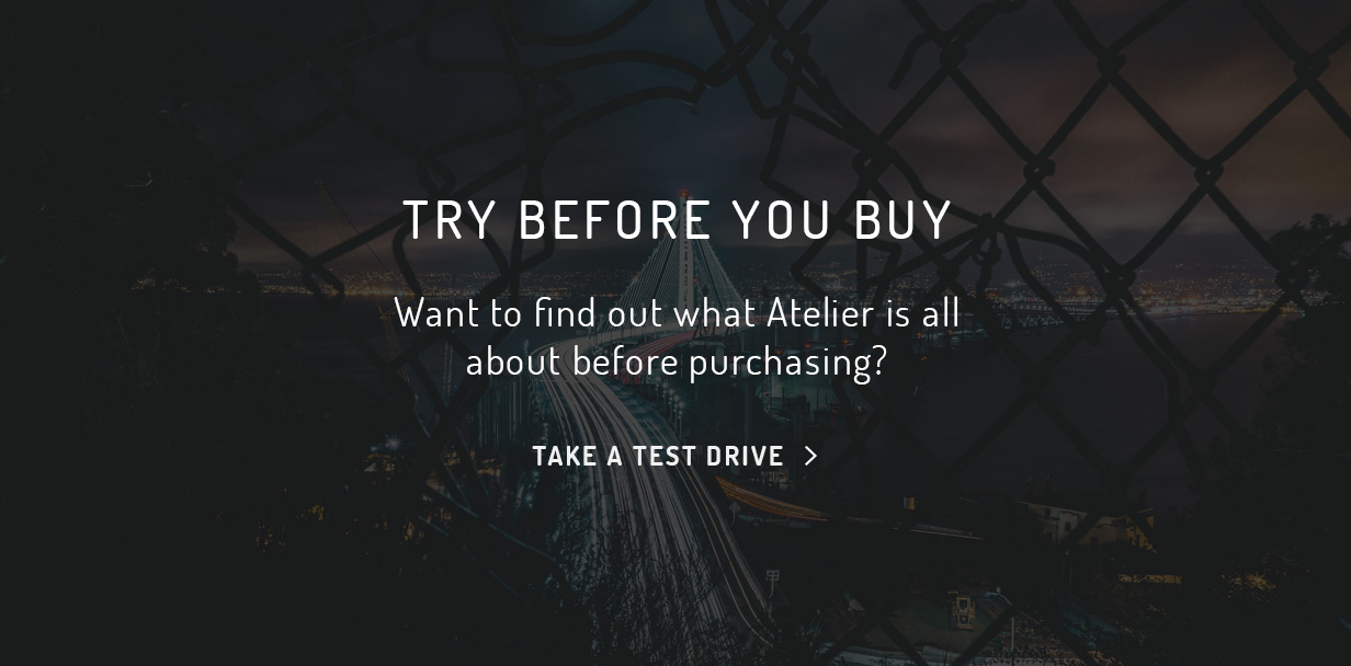 atelier try before you buy - Atelier - Creative Multi-Purpose eCommerce Theme
