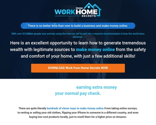 bizwahm x400 thumb - Work from Home Secrets