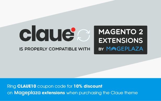 claue mageplaza1 - Claue - Clean, Minimal Magento 2 and 1 Theme