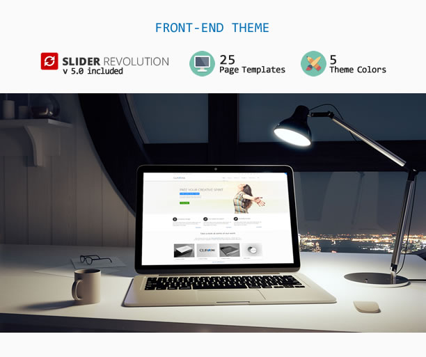 clip one 2 description parte 2 - Clip-One - Bootstrap 3 Responsive Admin Template