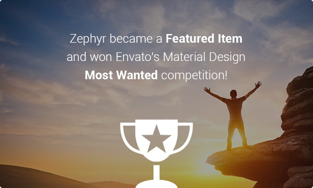 competition - Zephyr | Material Design Theme