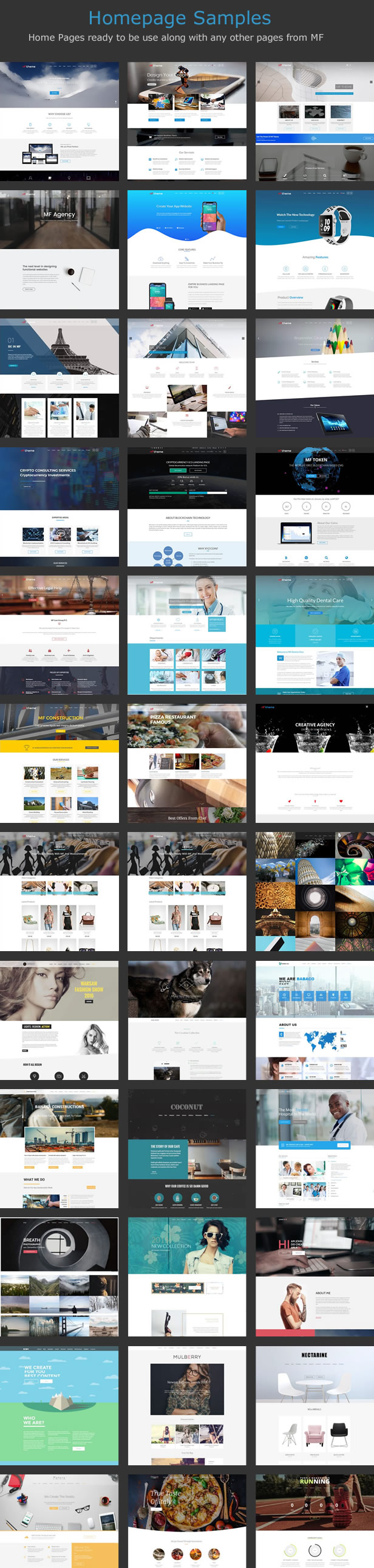 demos 18 - MF - Multipurpose WordPress Theme