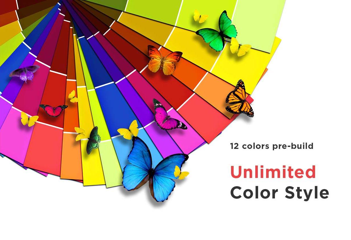 descolors - ArkaHost - WHMCS WordPress Theme