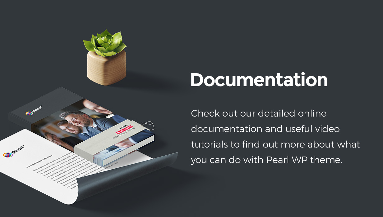 documentation - Pearl - Corporate Business WordPress Theme