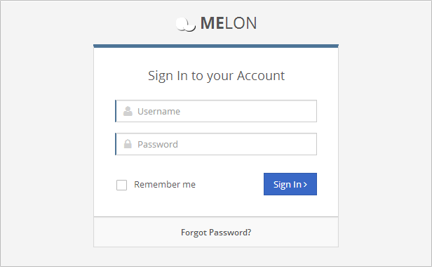 feature login - Melon – Flat & Responsive Admin Template