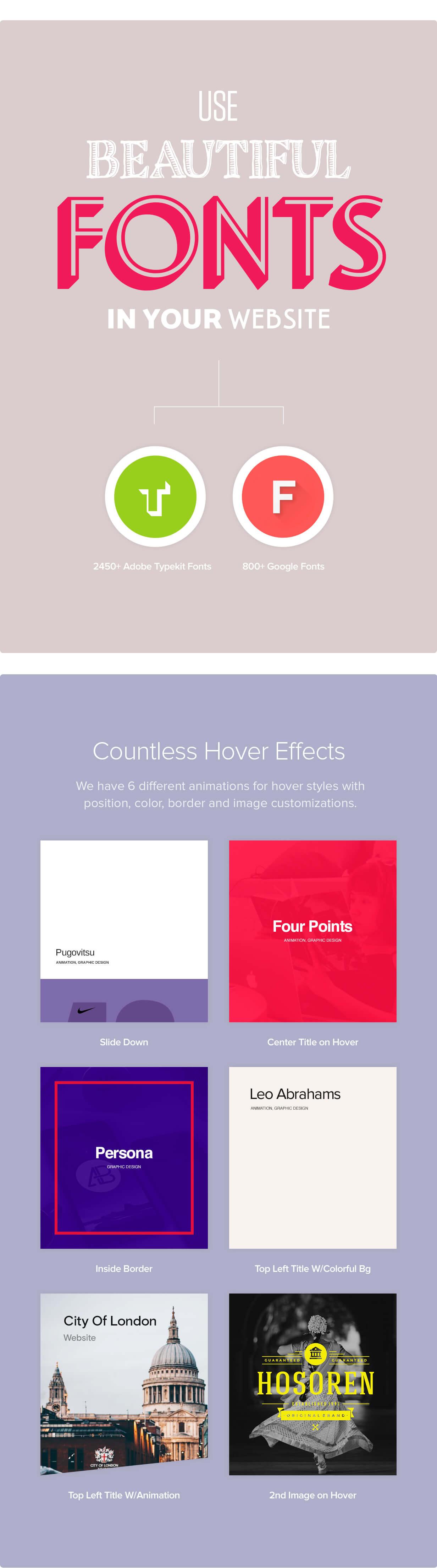 features 05 - Werkstatt - Creative Portfolio WordPress Theme