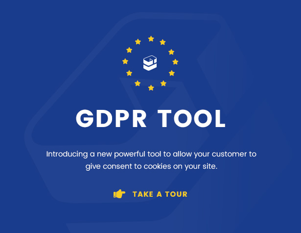 gdpr banner - Infinite - Multipurpose WordPress Theme