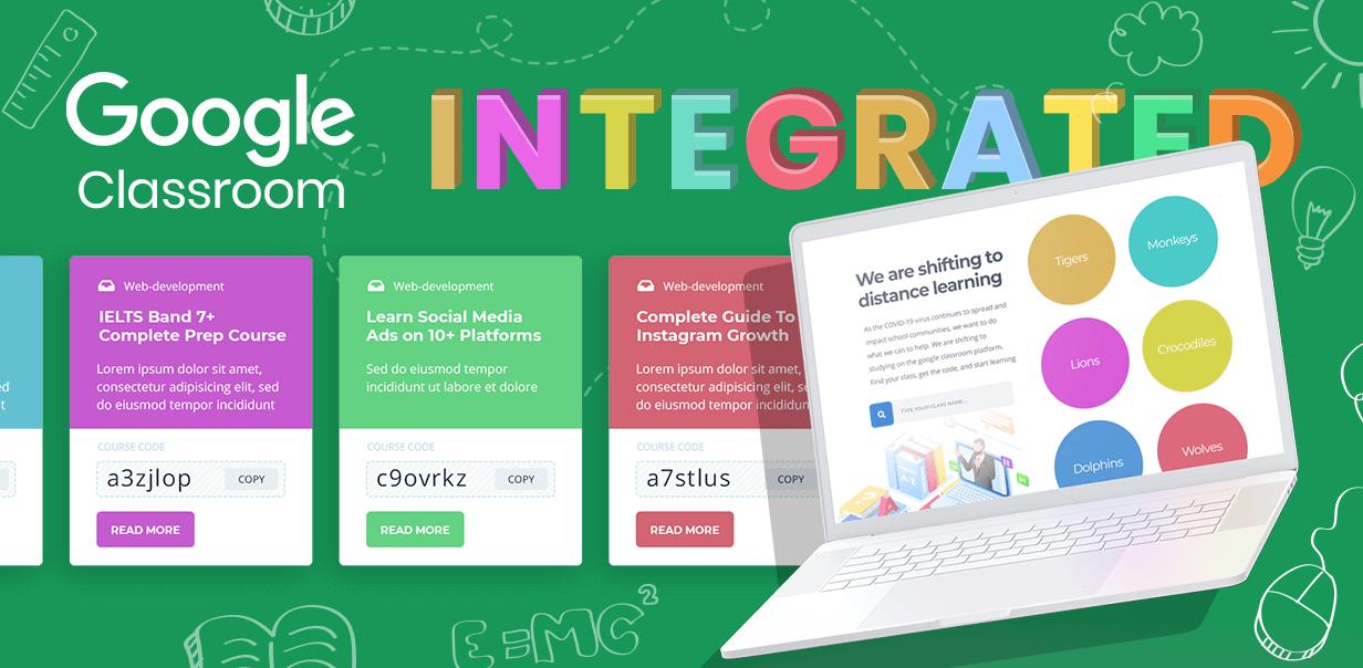 google classroom - Education WordPress Theme - Masterstudy