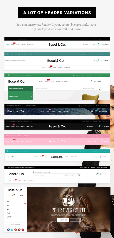 headers 2 - Basel - Responsive eCommerce Theme