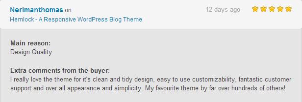 hemlock review3 - Hemlock - A Responsive WordPress Blog Theme