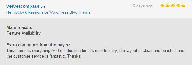 hemlock review4 - Hemlock - A Responsive WordPress Blog Theme
