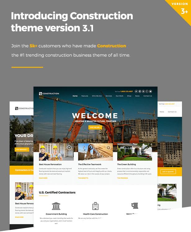 hero5555 - Construction WordPress Theme
