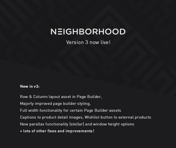 item page hero v3 - Neighborhood - Responsive Multi-Purpose Shop Theme
